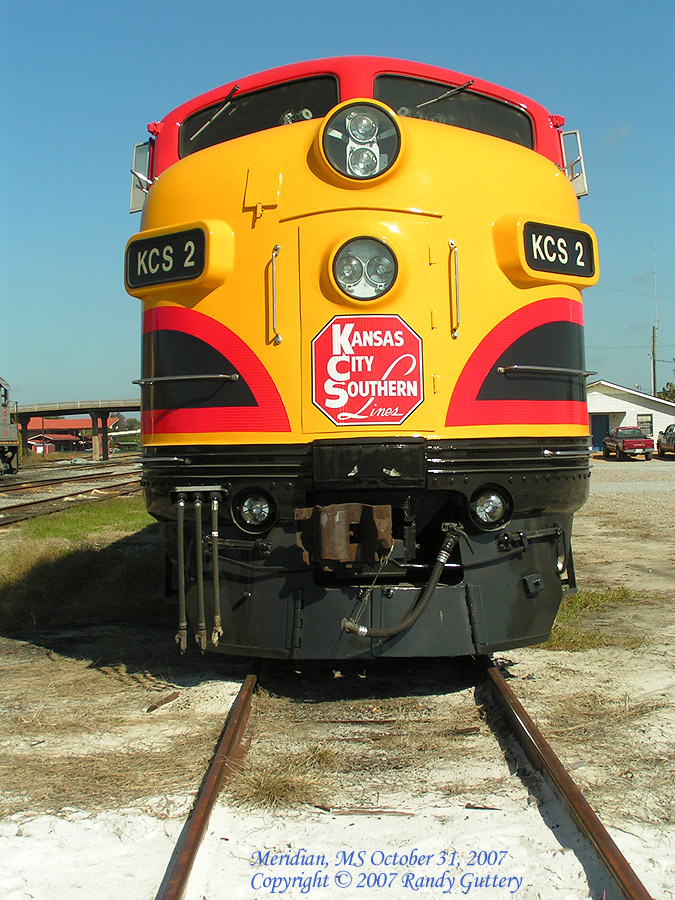 Kansas City Southern EMD F Unit KCS2 Meridian