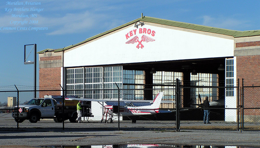 Meridian Aviation, Key Brothers Hanger, Meridian, MS