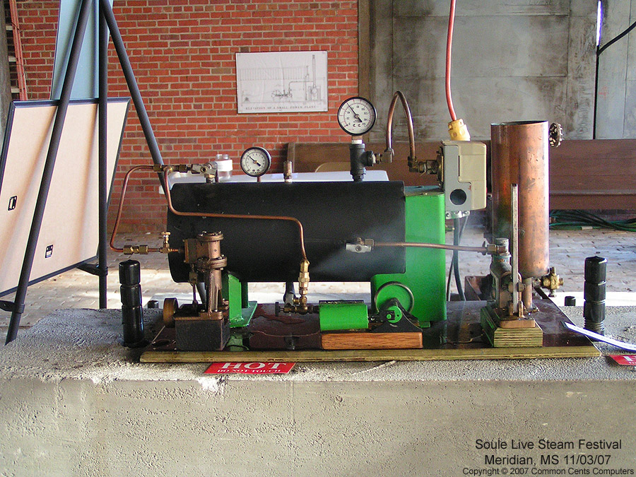 Electric boiler - Soule Live Steam Festival Meridian, MS 2007
