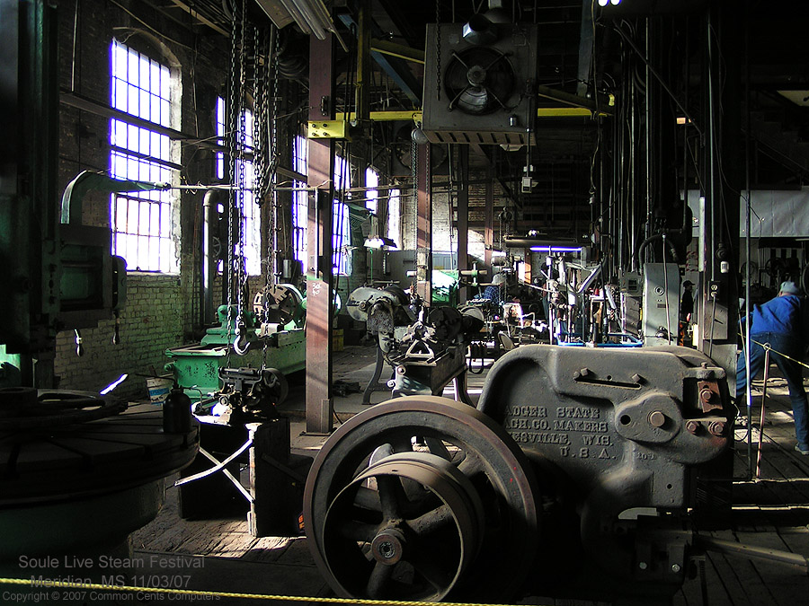Machine Shop - Soule Live Steam Festival Meridian, MS 2007