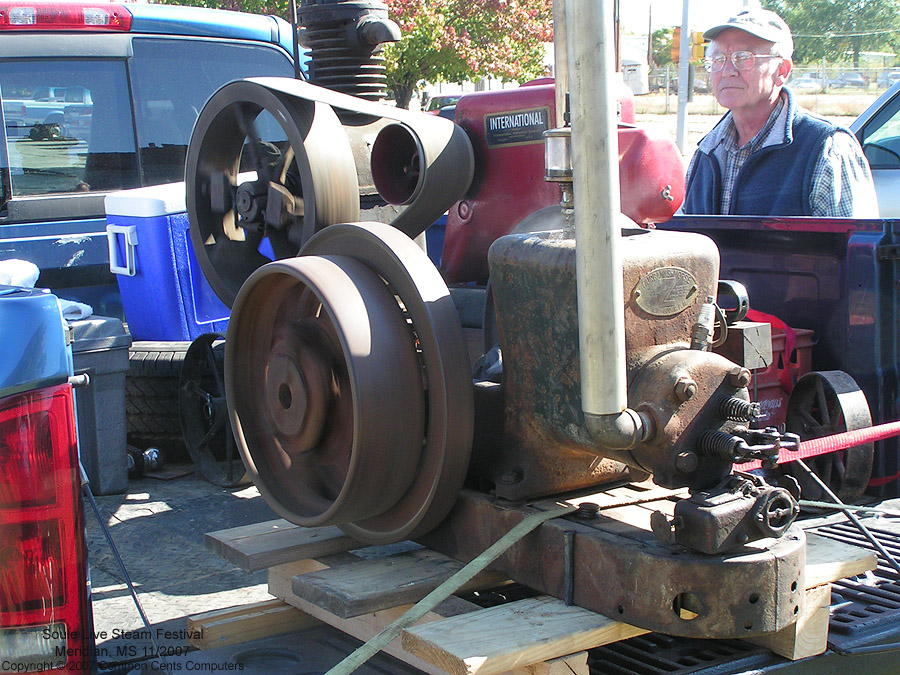 International Stationary Engine - Soule Live Steam Festival Meridian, MS 2007